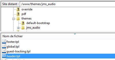 installer analytics prestashop manuellement