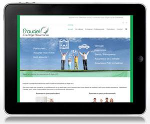 Création site Frauciel Agen