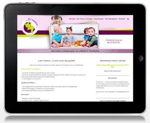 création site Les Ti'moon...