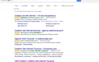 modification serp google adwords