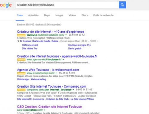 Adwords gagne de la place dans les SERP de Google